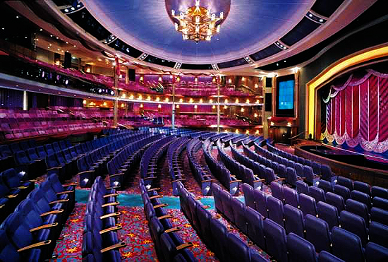 The Voyager Of The Seas Theater
